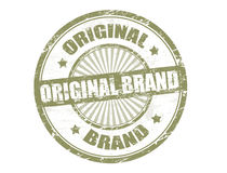 Original brand stamp Stock Photo