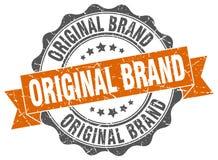 Original brand stamp. Sign. seal Royalty Free Stock Photo
