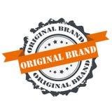 Original brand  stamp. Original brand stamp,sign, seal ,logo isolated on white background Stock Images