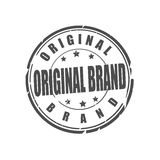 Original brand vector stamp Stock Image