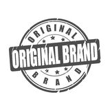 Original brand vector stamp Stock Photos