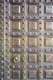 Original brass door background, India Stock Photos
