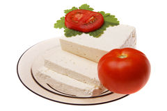 Original bulgarian cheese Stock Photography