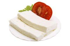 Original bulgarian cheese Royalty Free Stock Photos