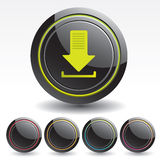 Original Buttons for Web Applications. Stock Image