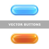 Original buttons for websites and applications. Royalty Free Stock Image