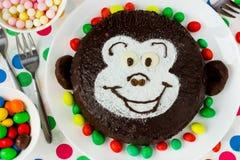 Original cake for a children`s birthday party Stock Photos