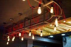 Original ceiling lamp Stock Photos