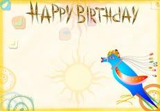 Original celebratory congratulatory card royalty free stock photo