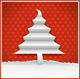 Original christmas card royalty free illustration