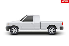 Original classic Pickup truck vector illustration Royalty Free Stock Images