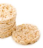 Original or Classic Rice Cakes Stock Photography