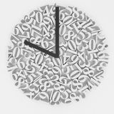 Original clock face Royalty Free Stock Photography