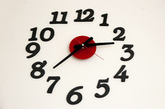 Original clock on the wall Royalty Free Stock Images