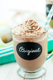 Original cold chocolate drink Stock Image