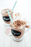 Original cold chocolate drink Stock Photography