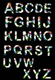 Original  colorful alphabet Royalty Free Stock Photos