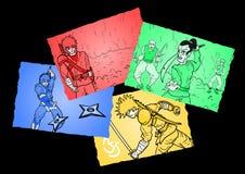 Original comic Stock Photos