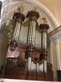 Original console buffet. Arequipa organo Royalty Free Stock Photography