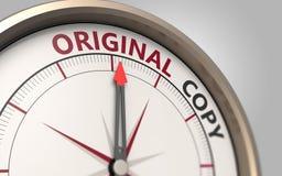 Original or copy Stock Images