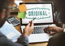 Original Copyright Genuine Patent Brand Graphic Concept Stock Photos