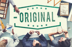 Original Copyright Genuine Patent Brand Graphic Concept Royalty Free Stock Photography