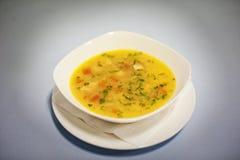 Original cream soup Royalty Free Stock Photo