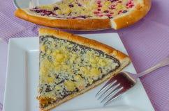 Original czech curd cake Royalty Free Stock Image