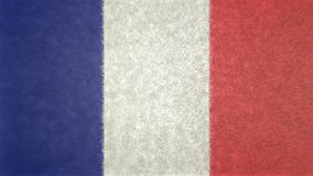 Original 3D image of the flag of France. Useful also as a background or texture Royalty Free Stock Images