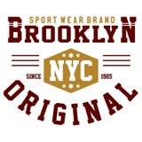 Original de nyc de Brooklyn Photo stock
