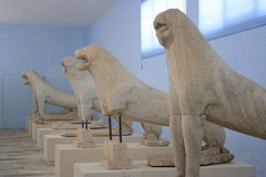 Original Delos Lion Royalty Free Stock Photos
