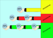 The original dependency diagram Stock Photo