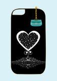 Original design background cover sticker on phone Stock Photos