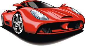 Original design car Royalty Free Stock Photos