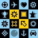 Original design elements. Collection of different original elements for design Stock Image