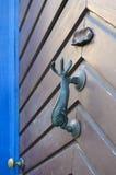 The original door handle Stock Photo