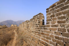 The original ecology of the great wall pass Stock Photos