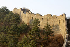 The original ecology of the great wall pass Stock Images