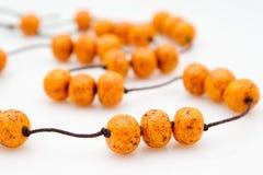 Original female bead from polymeric Stock Photos
