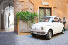 Original Fiat 500 Car Royalty Free Stock Photos