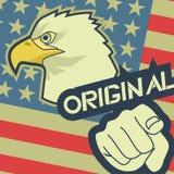 Original flag Stock Image