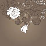 Original floral background Stock Images