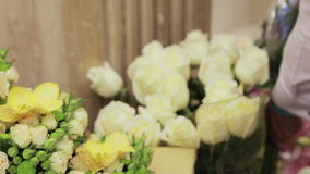Original floral gift stock video footage
