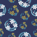 Original floral seamless pattern Stock Photos