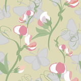 Original floral seamless pattern Stock Images