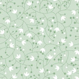 Original floral seamless pattern Stock Photo