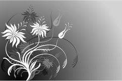 Original flowers stock illustration