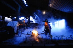 The original foundry Stock Image