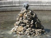 The original fountain in g.Sinaya. Royalty Free Stock Image