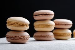 Original French macaroons Stock Photography